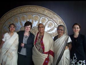 Meeting Somervillians in India